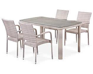 Купить обеденную группу Афина-мебель T51A/Y376-W85-150x85 4Pcs