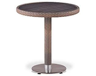 Купить стол Афина-мебель Плетеный T501DG-W1289-D70 Pale