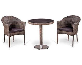 Купить обеденную группу Афина-мебель T501DG/Y350G-W1289 Pale 2Pcs