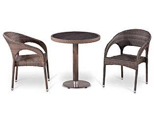 Купить обеденную группу Афина-мебель T501DG/Y90CG-W1289 Pale 2Pcs