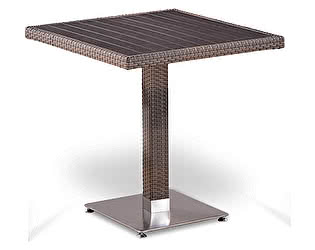 Купить стол Афина-мебель Плетеный T502DG-W1289-70х70 Pale