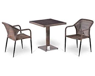 Купить обеденную группу Афина-мебель T502DG/Y35G-W1289 Pale 2Pcs