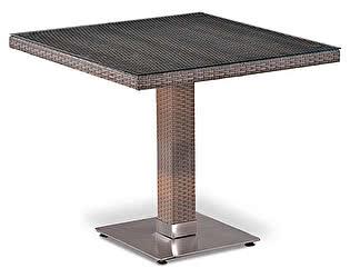 Купить стол Афина-мебель Плетеный T503SG-W1289-80х80 Pale