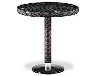 Купить стол Афина-мебель Плетеный T504T-W2390-D70 Brown