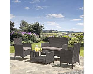 Купить комплект садовой мебели Афина-мебель AFM-2025G Grey