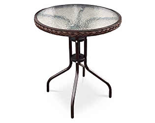 Купить стол Афина-мебель Асоль-1 TLH-087-D60 Brown