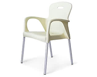 Купить кресло Афина-мебель Стул пластиковый XRF-065-BW White