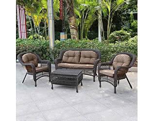 Купить комплект садовой мебели Афина-мебель LV520BB Вrown/Beige
