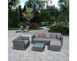 Купить комплект садовой мебели Афина-мебель YR921 Gray