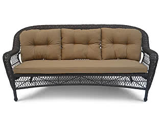 Купить диван Афина-мебель Плетеный LV216-1 Brown/Beige