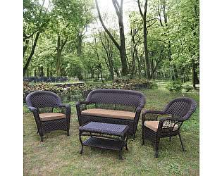 Купить комплект садовой мебели Афина-мебель LV130 Brown/Beige