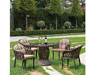 Купить обеденную группу Афина-мебель RT-A92 Brown  4Pcs