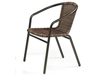 Купить кресло Афина-мебель Стул плетеный Асоль CDC01 Brown