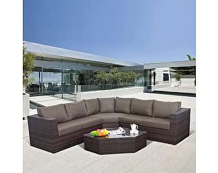 Купить комплект садовой мебели Афина-мебель X03 Brown