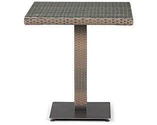 Купить стол Афина-мебель Плетеный T601G-W1289-70х70 Pale