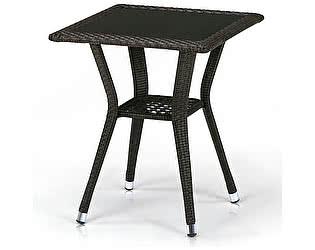 Купить стол Афина-мебель Плетеный T25-W53-50x50 Brown