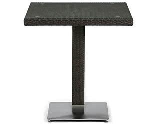 Купить стол Афина-мебель Плетеный T605SWT-W53-70x70 Brown