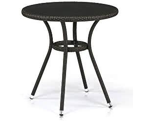 Купить стол Афина-мебель Плетеный T282ANS-W53-D72 Brown