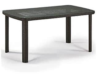 Купить стол Афина-мебель Плетеный T51A-W53-150x85 Brown