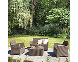 Купить комплект садовой мебели Афина-мебель AFM-2018B Beige/Beige