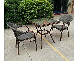 Купить обеденную группу Афина-мебель T130/C029-TX 70x70 2Pcs