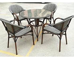 Купить обеденную группу Афина-мебель T071/C029-TX D90 4Pcs
