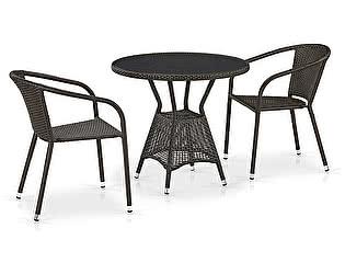 Купить обеденную группу Афина-мебель T707ANS/Y137C-W53 2Pcs Brown