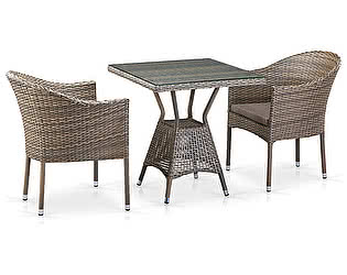 Купить обеденную группу Афина-мебель T706G/Y350G-W1289 2Pcs Pale