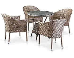 Купить обеденную группу Афина-мебель T705ANT/Y350G-W1289 4Pcs Pale