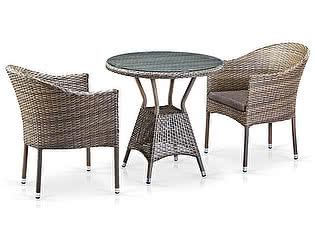 Купить обеденную группу Афина-мебель T705ANT/Y350G-W1289 2Pcs Pale