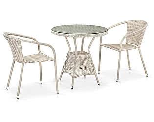 Купить обеденную группу Афина-мебель T705ANT/Y137C-W85 2Pcs Latte