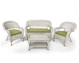 Купить комплект садовой мебели Афина-мебель LV130 White/Green