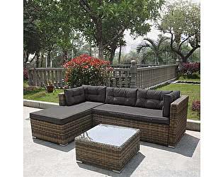 Купить комплект садовой мебели Афина-мебель AFM-302 Brown/Grey