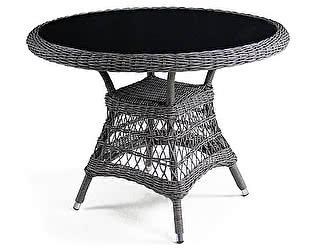 Купить стол Афина-мебель Плетеный T306-D105 Light brown