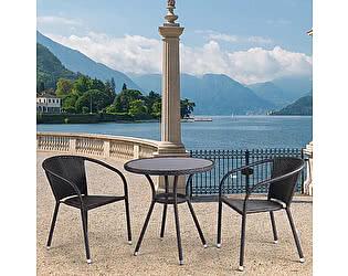 Купить обеденную группу Афина-мебель T282ANS/Y137C-W53 Brown 2Pcs