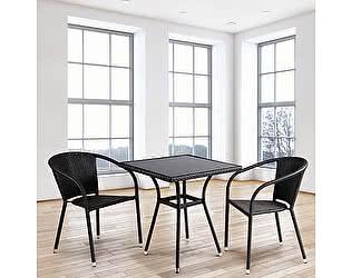 Купить обеденную группу Афина-мебель T282BNS/Y137C-W53 Brown 2Pcs