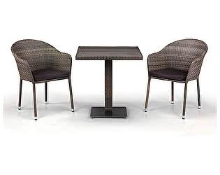 Купить обеденную группу Афина-мебель T601DG/Y375G-W1289 Pale 2Pcs