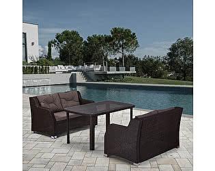 Купить комплект садовой мебели Афина-мебель T51A/S51A-W53 Brown
