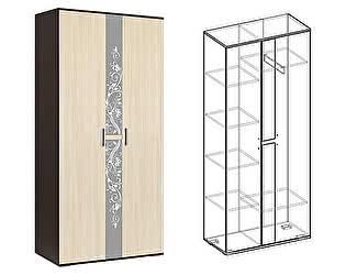 Купить шкаф Мебель Маркет Алегро 2х створчатый (Венге/Дуб)