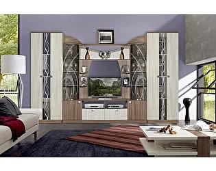 Купить гостиную Мебель Маркет Мадрид 4 (ясень) Комплект 1