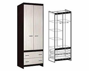 Купить шкаф Мебель Маркет Спайдер 2-хстворчатый с ящиками