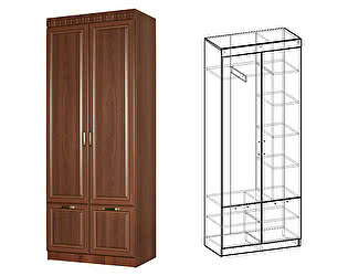 Купить шкаф Мебель Маркет Чара 2-х створчатый