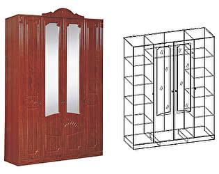 Купить шкаф Мебель Маркет Арина 4-х створчатый