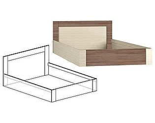 Купить кровать Мебель Маркет Берта 1400 (Ясень Шимо)