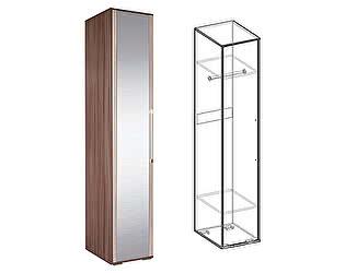 Купить шкаф Мебель Маркет Пенал Берта с зеркалом (Ясень Шимо)