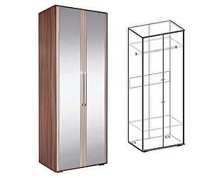 Купить шкаф Мебель Маркет Берта 2х створчатый с зеркалами (Ясень Шимо)