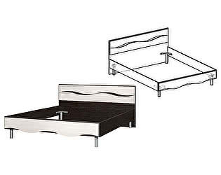 Купить кровать Мебель Маркет Гардония 1400