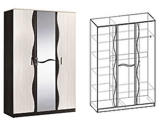 Купить шкаф Мебель Маркет Гардония 3-х створчатый