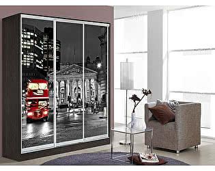 Купить шкаф Мебель Маркет Оскар 3 Лондон (Венге)