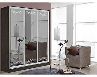 Купить шкаф Мебель Маркет Оскар 3.2 (Венге)